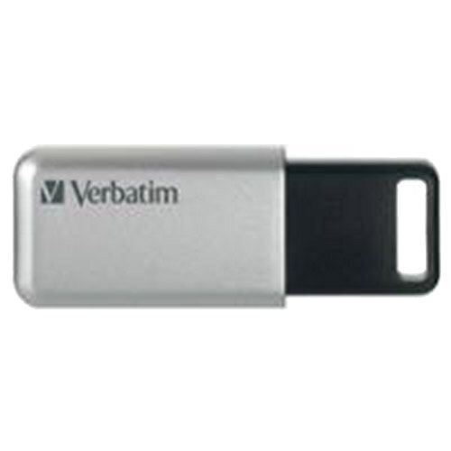 Verbatim Silver/Black Secure Pro USB 3.0 Flash Drive 16GB 98664