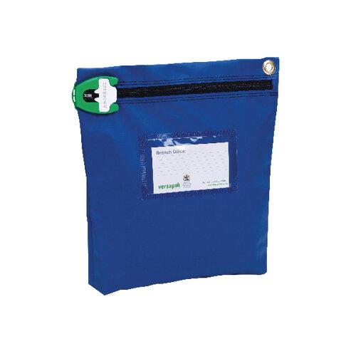 Versapak High Security Pouch 267x267x50mm Blue CCB1 T2SEAL