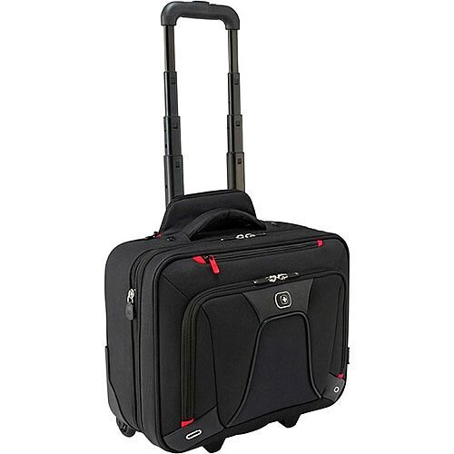"Wenger Transfer 16"" Expandable Wheeled Laptop Case 600664"