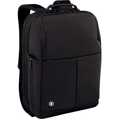Wenger Reload 16in Laptop Backpack with tablet Pocket - Black 601070