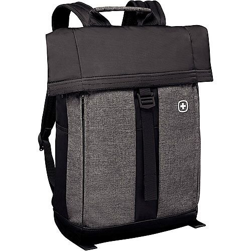 Wenger Metro 16in Flapover Laptop Backpack with Tablet Pocket 601058