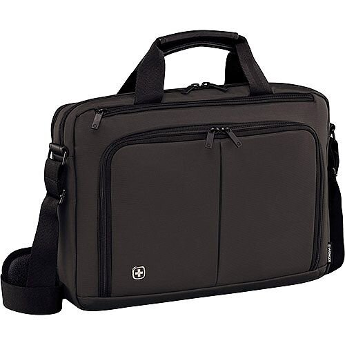 Wenger Source 16in Laptop Briefcase with Tablet Pocket - Grey 601067