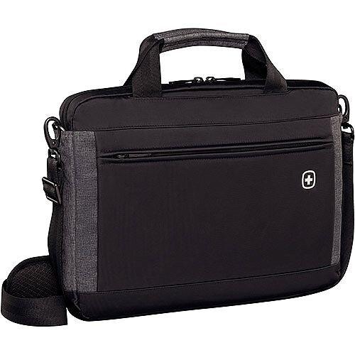 Wenger Incline 16in Laptop Slimcase Bag with Tablet Pocket - Black 601081