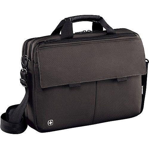 Wenger Route 16in Laptop Messenger Bag with Tablet Pocket - Grey 601061