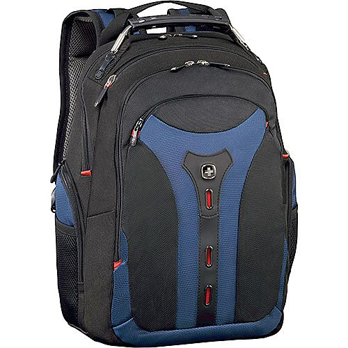 Wenger Pegasus 15in MacBook Pro Laptop Backpack with iPad Pocket - Blue 600625