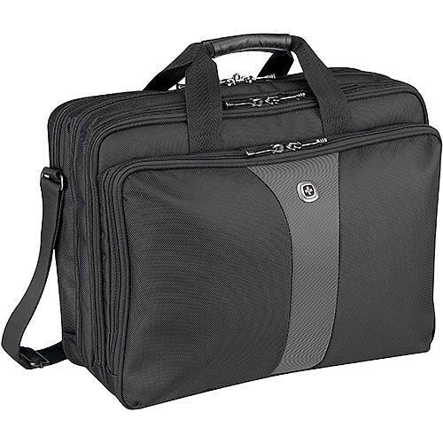 Wenger Legacy 17in Triple Laptop Bag 600655