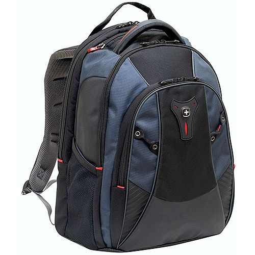Wenger Mythos 16in Laptop Backpack with CaseBase - Blue 600632
