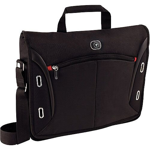 "Wenger Developer 15"" MacBook Pro Messenger Bag & iPad Pocket 600665"