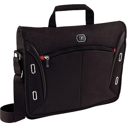 """Wenger Developer 15"""" MacBook Pro Messenger Bag &iPad Pocket 600665"""