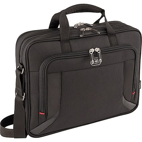 Wenger Prospectus 16in Double Compartment Notebook Case Laptop Bag 600649
