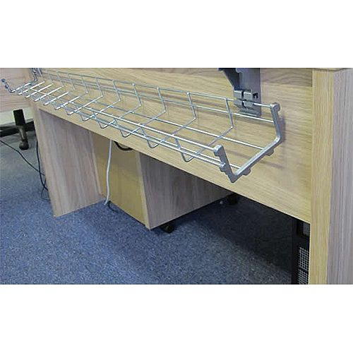 1400mm Desk Wire Cable Management Basket WB1400-S