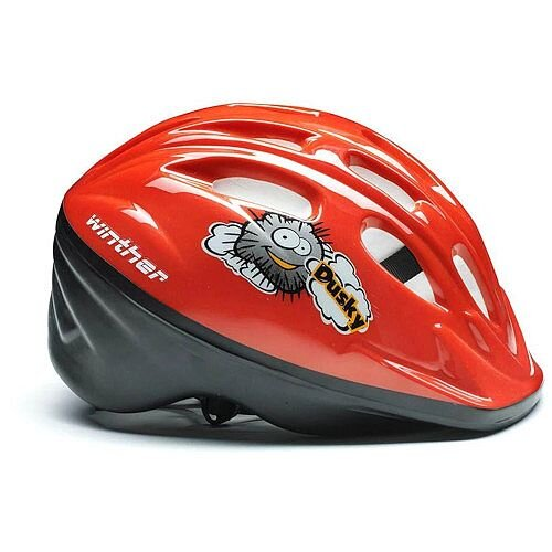 Childrens Cycling Helmet Red