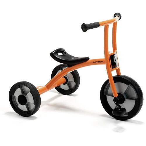 Winther Circleline Trike Large Orange with Black Seat - Suitable for Ages 4-8 Years