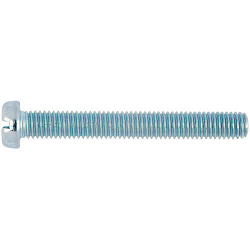 Wurth Slotted Cheese Head Screw - SCR-CYL-DIN84-4.8-(A2K)-M5X10 Ref. 00405 10 PACK OF 100