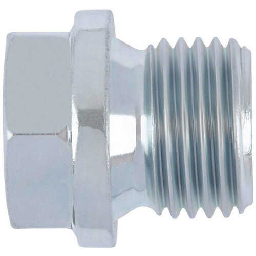 Wurth Hexagon Head Sealing Plug With Collar - SCR-PLG-DIN910-WS17-(A2K)-M18X1,5 Ref. 024118 15 PACK OF 10