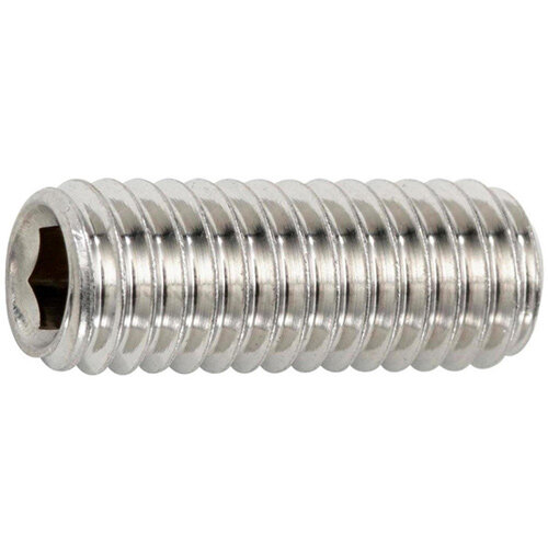 Wurth Hexagon Socket Set Screw With truncated cone - SCR-TRNC-ISO4026-A2-21H-IH6-M12X25 Ref. 026112 25 PACK OF 50