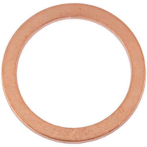 Wurth Sealing Ring, copper, Shape A - RG-SEAL-DIN7603-CU-A-18X22X1,5 Ref. 046018 22 PACK OF 50