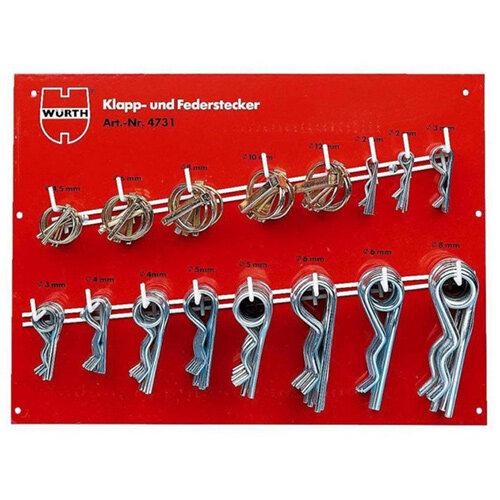 Wurth Lnch Pin a. spr cot Pin ass - FLD/SPGPINLOK-SET Ref. 04731