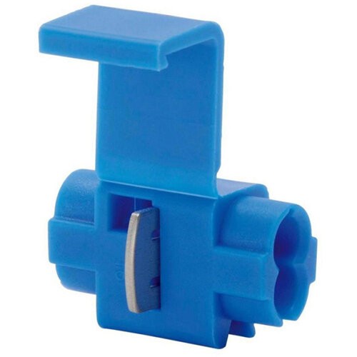 Wurth Branch Connector Non-Detachable - JUNCCON-BLUE-(1,0-2,5SMM) Ref. 0555564 PACK OF 50