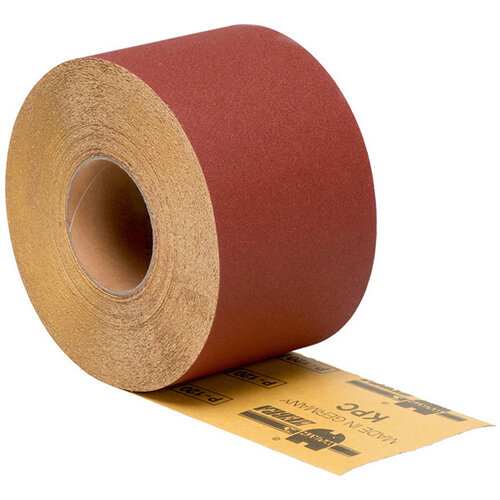 Wurth Dry Abrasive Paper Roll, Wood KP Perfect - DSPAP-ROLL-P240-115MMX50M Ref. 0583215240