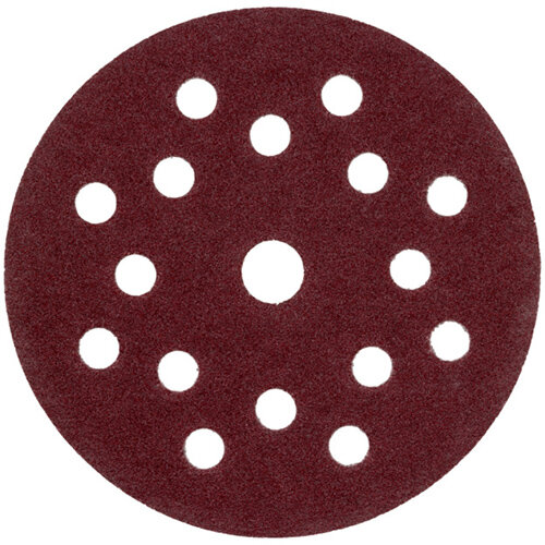 Wurth Wood Dry Sandpaper Disc KP Perfect - DSPAP-HOKLP-MULTIHOLE-P240-D125MM Ref. 0583352024 PACK OF 100
