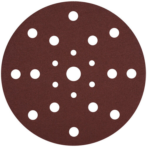 Wurth Wood Dry Sandpaper Disc KP Perfect - DSPAP-HOKLP-MULTIHOLE-P240-D150MM Ref. 0583353024 PACK OF 100