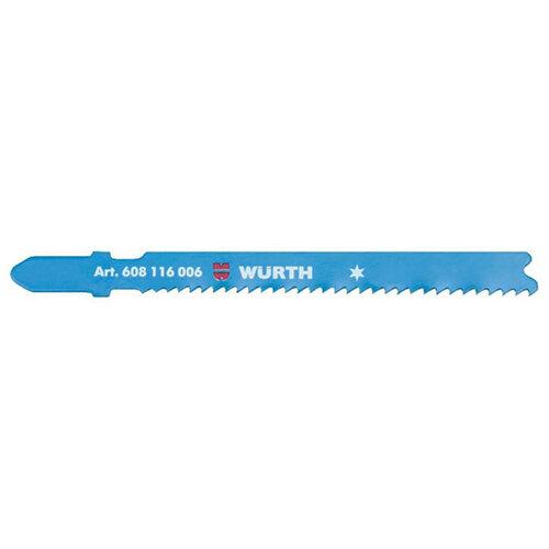 Wurth Jigsaw Blade, Metal - JIGSAWBLDE-MET-5PCS-50/2 Ref. 0608116006