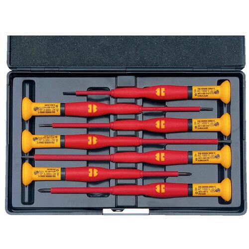 Wurth VDE Precision Screwdriver Assortment, Slotted/PH - SCRDRIV-VDE-SET-FINEMECHANIC-SL/PH-7PCS Ref. 06134894