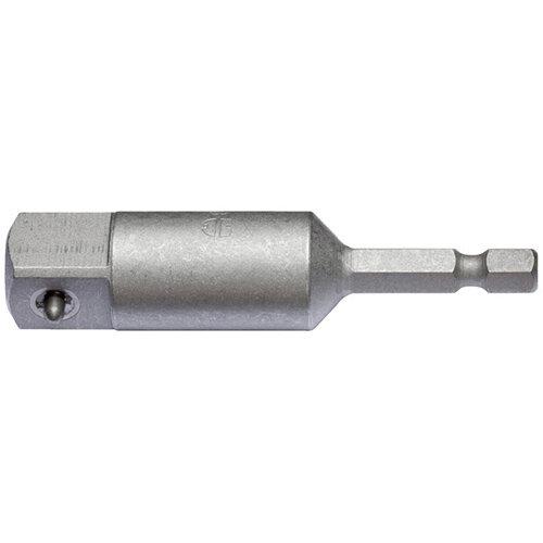 Wurth Connector DIN 7428 E 6.3 (1/4 inch) - HOLD-BIT-IMPNUT-HEX-1/4INX4PT-1/2IN-L74 Ref. 0614176780