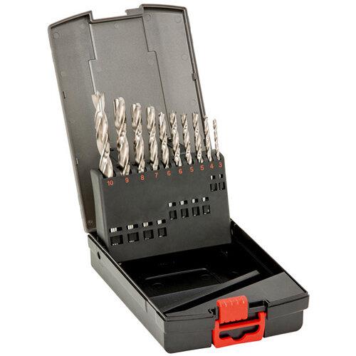 Wurth Precision Twist Wood Drill Bit Assortment HSCo - DRL-TWST-WO-SORT-HSCO-P-(D3-10)-10PCS Ref. 0650810001
