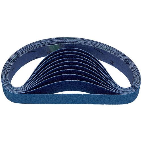 Wurth Zirconia Alumina Sanding Belt for Tube Belt Sander - SNDBL-WOVN-ZC-G60-40X675 Ref. 0673305006 PACK OF 10