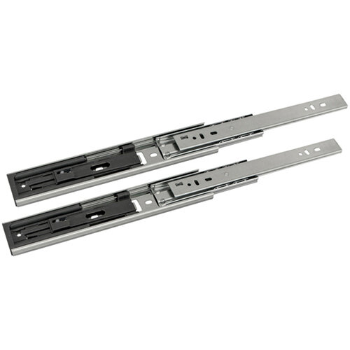 Wurth Ball-bearing Guide Full Extension, Soft Close, 25kg - GUID-BALLBEAR-FE-ABSORB-25KG-600MM Ref. 0684530306 PACK OF 10