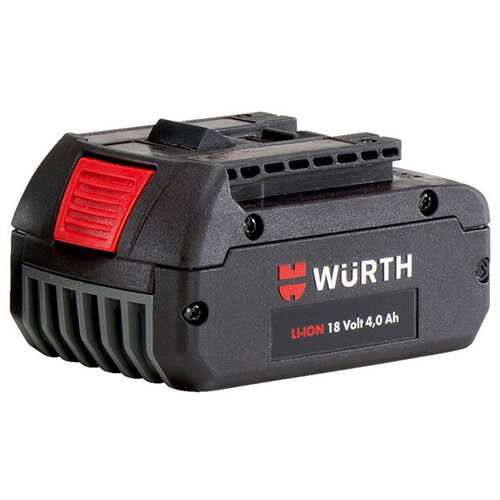 Wurth Battery LI-CV 18 V - BTRYPCK-LI-CV-18V/4,0AH Ref. 0700916532
