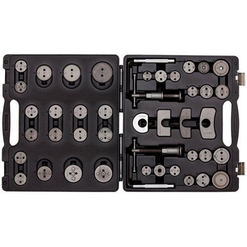 Wurth Brake Piston Resetting Tool Set - BRKRST-(PRESS-TURN)-44PCS Ref. 071555 200