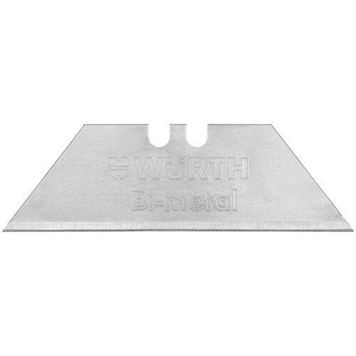 Wurth Bi-metal Blade - BLDE-KNFE-TRAPEZE-BIMETAL-61MM Ref. 071566 021 PACK OF 10