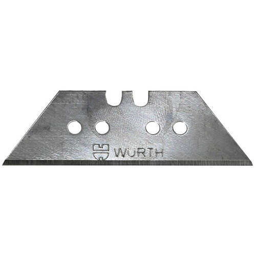 Wurth Trapezoidal Blade - BLDE-KNFE-TRAPEZE-BLDEL60MM-BLDEW19MM Ref. 071566 028 PACK OF 10