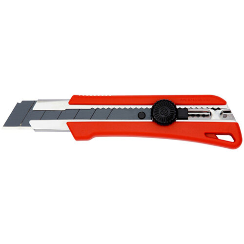 Wurth 1C Cutter Knife With Clamping Wheel - Cutter-RED-H25MM-L185MM Ref. 071566 350