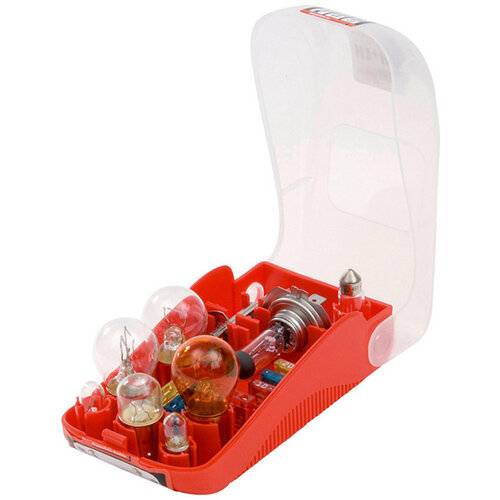Wurth Vehicle Bulb Combination spare Box - Bulb-KIT-H7/H1-EMERGENCYBOX-24V-15PCS Ref. 072096271 PACK OF 10