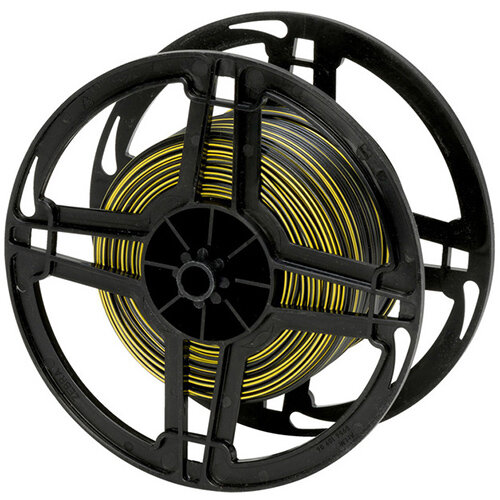 Wurth Vehicle Line FLRY - VEHCBL-FLRY-REEL-(BLACK-Yellow)-0,5SMM Ref. 077005065 PACK OF 500