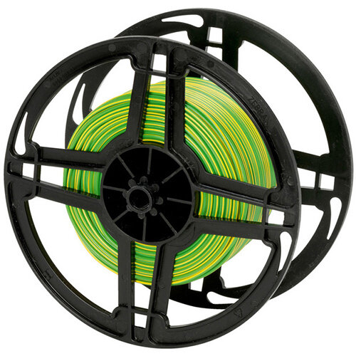 Wurth Vehicle Line FLRY - VEHCBL-FLRY-REEL-(GREEN-Yellow)-0,75SMM Ref. 07700755 PACK OF 100