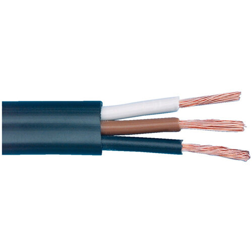 Wurth Vehicle Line Flat Cable FLRYY - VEHCBL-FLRYY-REEL-BLACK-2X2,5SMM Ref. 0770203 PACK OF 15