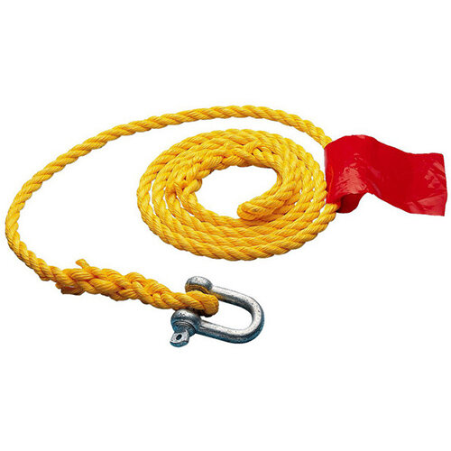 Wurth Tow rope - TWROP-POLYPROPYLEN-Yellow-L3,5M Ref. 077201 400