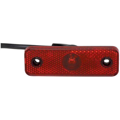 Wurth LED Contour/tail Light Pro 24V - Light-OUTLINE-PRO-90DGR-HOTMELT-LED-RED Ref. 081242 450 PACK OF 2