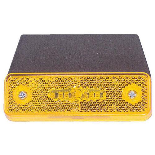 Wurth LED Side Marker Light 24V - SML-ADR-BRACKETHOLD-(90DGR)-HOTMELT-LED Ref. 081242 880 PACK OF 10