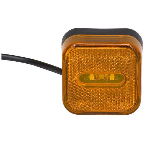 Wurth LED Side Marker Light 24V - SML-MAN-(CABLE-0,5M)-LED-24V Ref. 081242 912 PACK OF 2