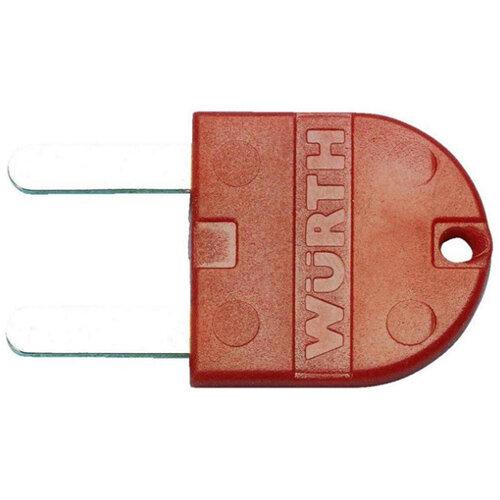 Wurth Klapp-Fix Key - AY-KEY-NPH-KLAPPFIX-RED Ref. 0825990 PACK OF 5
