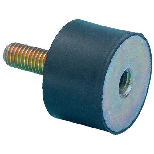Wurth Rubber/metal Buffer Type B - C2C - BUFR-RBR/MET-B-20X20-M6 Ref. 0862800010 PACK OF 4