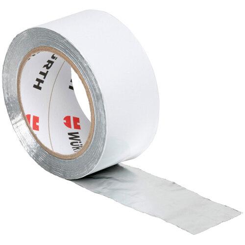 Wurth Pure Aluminium Adhesive Tape - ADHTPE-ALU-100MMX50M Ref. 0874100342