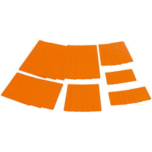 Wurth Tarpaulin Repair System Plaster Kit - PATNG-SET-MOBILE-DEEPORANGE Ref. 0880602011