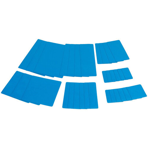 Wurth Tarpaulin Repair System Plaster Kit - PATNG-SET-MOBIL-LIGHTBLUE Ref. 0880605012